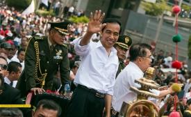 Indonesian President Jokowi