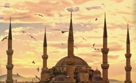 The Blue Mosque (Sultan Ahmed Mosque) Istanbul, Turkey