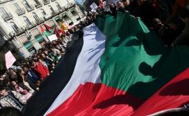 Por la paz en Palestina, by Carlos Capote