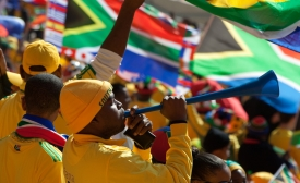 Fans at the 2010 FIFA World Cup in South Africa