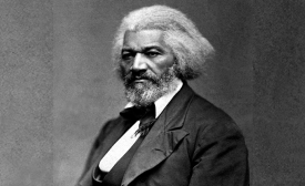 Frederick Douglass circa 1879,  National Archives and Records Administration, National Archives Identifier (NAID) 558770. Public domain.