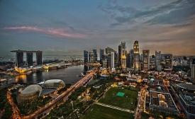 Singapore image via Wikimedia Commons