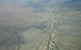 San Andreas Fault in the Carrizo Plain
