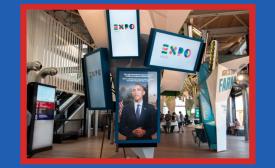 USA Pavilion at Expo Milano 2015 by César Corona