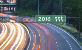 Highway sign 2016