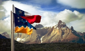 Chile & Patagonia Flags