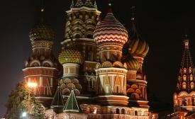 Saint Basil Cathedral at Night
