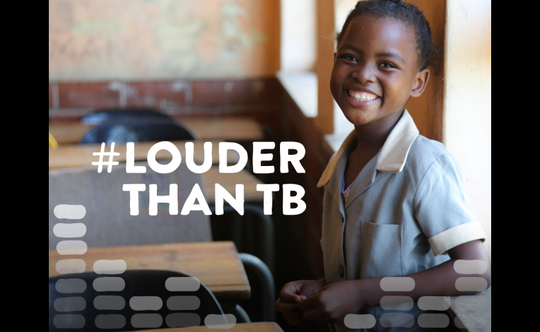 Louder Than TB campaign image