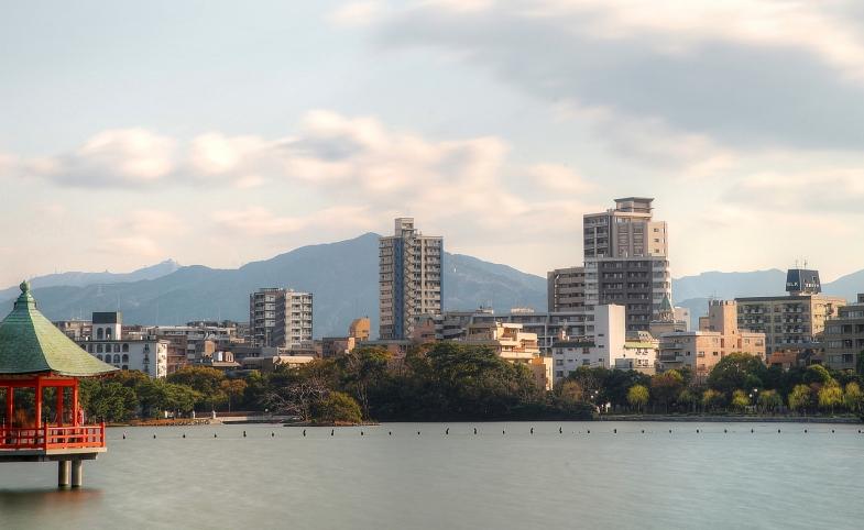 Fukuoka Japan by Marlusz Kluzniak