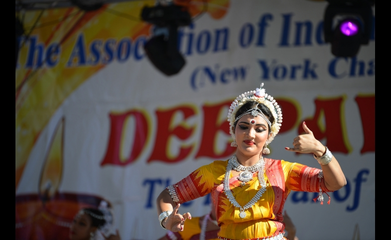 The 2014 Deepavali celebration in New York City