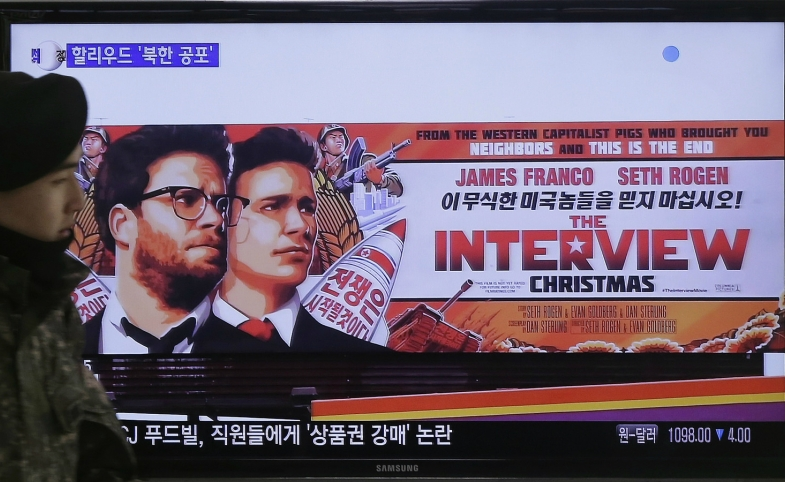 """Movie poster for """"The Interview"""""""