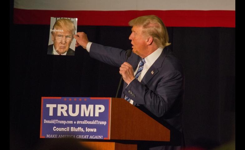 Donald Trump, by Matt Johnson