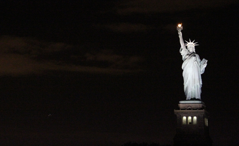 Statue of Liberty at Night