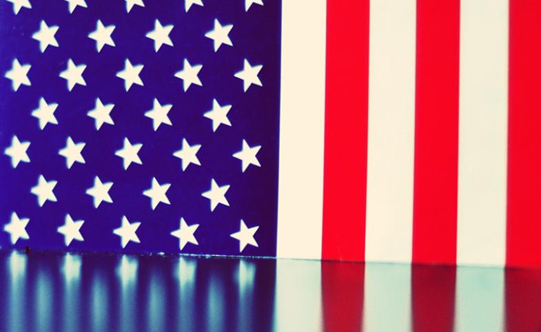 American flag reflection. CC BY-NC-SA 2.0   Image by Luigi Anzivino via Flickr.com