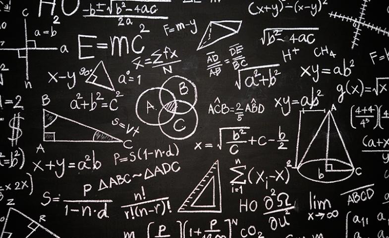 E = mc2 chalkboard image by jcomp via freepik.com