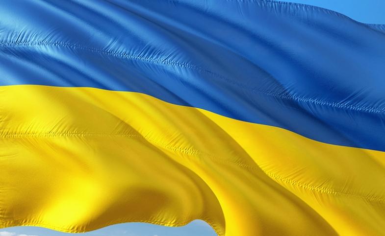 Ukrainian flag image by jorono via freepik.com