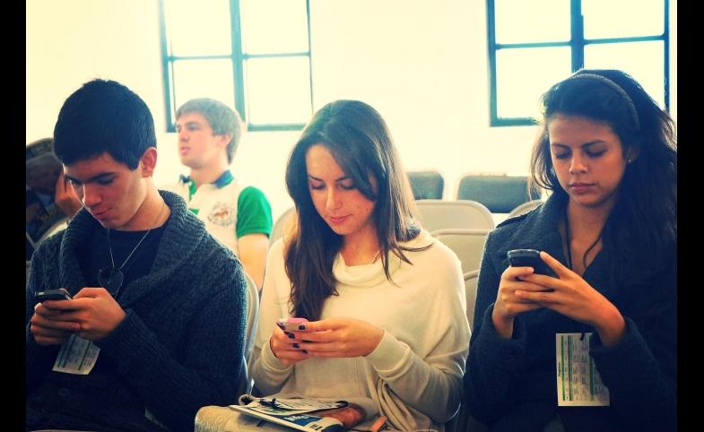 Smartphones, by Esther Vargas