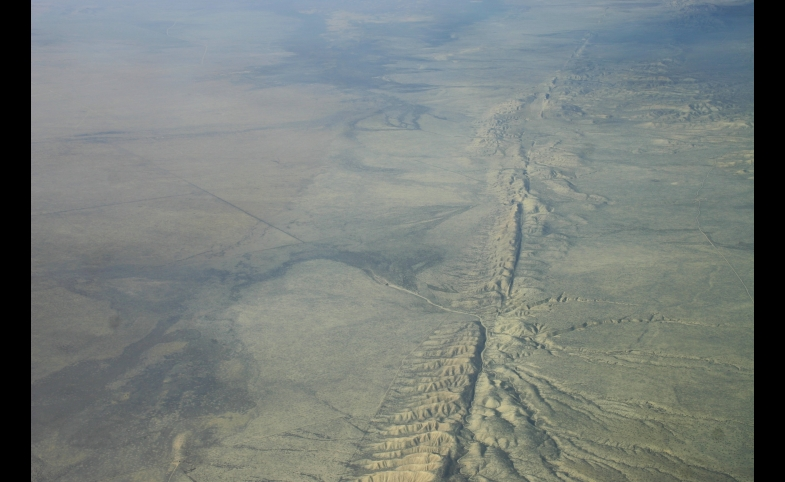 San Andreas Fault in the Carrizo Plain