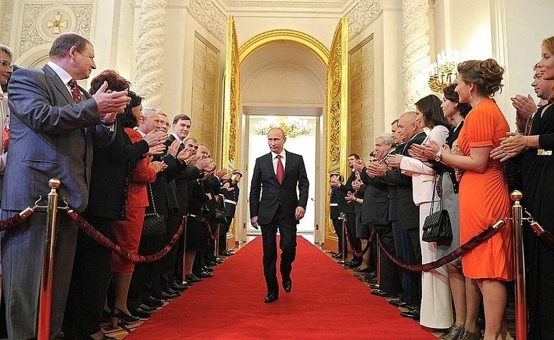 Inauguration of Putin, by En.Kremlin.ru