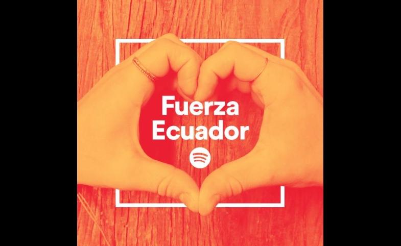 Fuerza Ecuador Playlist Cover