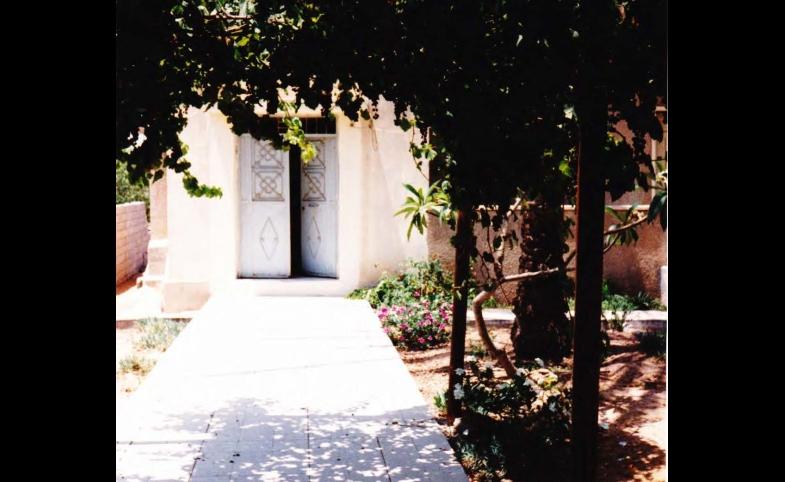 Zaharna Gaza Home Entrance, photo courtesy of author