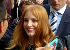 Jessica Chastain at the Martian premiere in Toronto