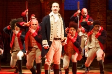 A scene from the musical Hamilton