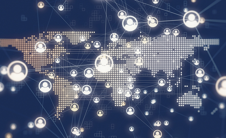 World Map Network