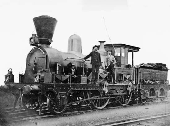 Train Expo 1880 Melbourne