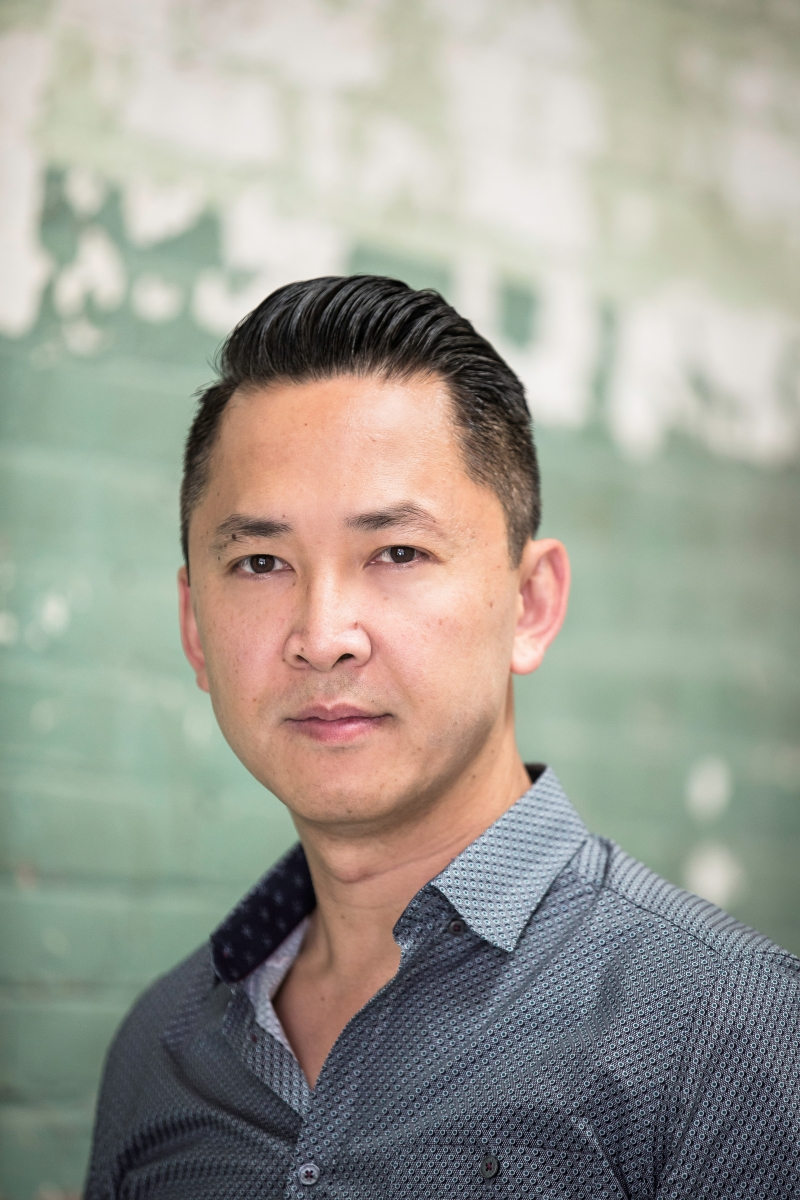 Photo of Viet Thanh Nguyen by BeBe Jacobs