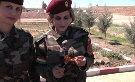 Peshmerga | Kurdish Army: Female Soldiers of Kurdistan