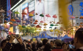 Causeway Bay Last Day - Hong Kong Umbrella Revolution