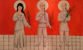 3 Chinese Saints