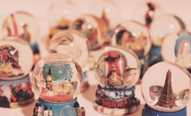 Snowglobes, by Jessica