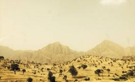 On the mountain road between Sulaimani and Erbil in Iraqi Kurdistan