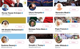 Twitter Profiles of World Leaders