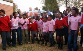 Behind the Scenes: Children Perform at Cullinan Clinic (a PEPFAR project)
