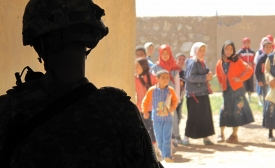 Iraq School, by Angie Johnston