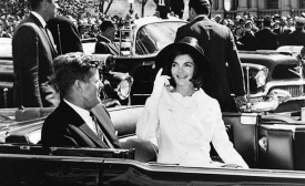 John and Jacqueline Kennedy 27 March 1963, by Abbie Rowe
