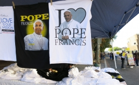 Pope merch in DC