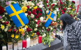 Stockholm Terrorist Attack Memorial