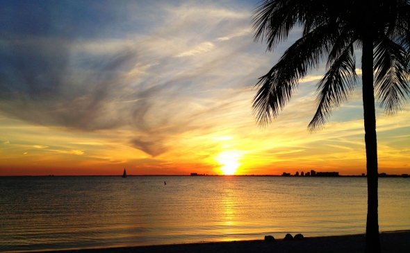 Key Biscayne sunset