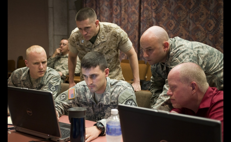 Joint Operations train against cyber war