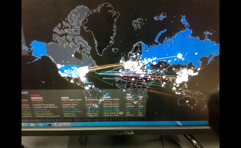 Cyber attacks in real time