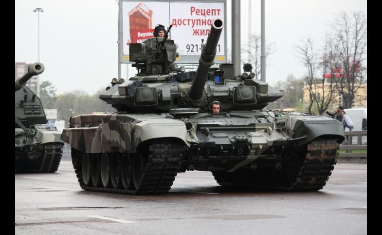 T-90s by Dmitry Terekhov