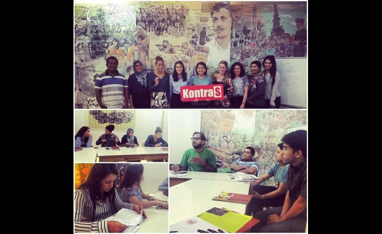 The MPD delegation to Indonesia at KontraS