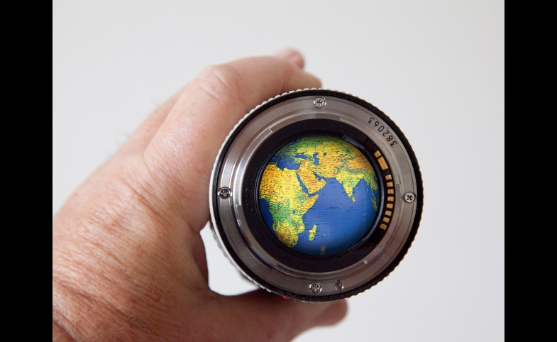 Reframing the globe through a new lens