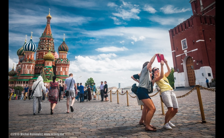 Selfies in Russia