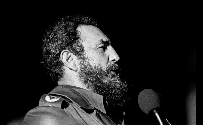 Fidel Castro, Havana, 1978, by Marcelo Montecino
