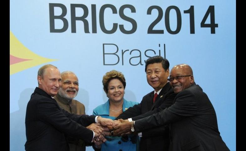 BRICS leaders in Brazil